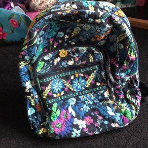 Vera Bradley campus book bag